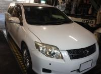 島田市の方より、トヨタ カローラフィルダーの車検をご依頼頂きました。