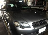 島田市の方より、スバル レガシーの持込みタイヤ組替のご依頼を頂きました。