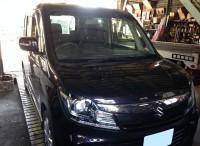 島田市 スズキ ソリオバンディット 車検ご用命頂きました。