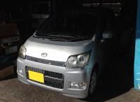 島田市 ダイハツ ムーヴカスタム タイヤ組替交換こ用命頂きました。