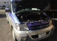 島田市 トヨタ タウンエースノア オイル交換ご用命頂きました。