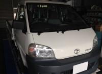 島田市 トヨタ ライトエーストラック 6か月点検ご用命頂きました。