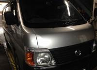 島田市 ニッサン キャラバン 車検ご用命頂きました。