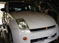 島田市 トヨタ WILL タイヤ組替交換ご依頼頂きました。