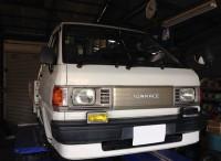 島田市 トヨタ タウンエーストラック 車検ご依頼頂きました。