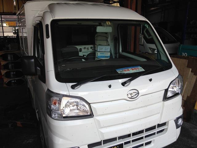 島田市 タイハツ ハイゼットパネルバン12カ月点検ご依頼頂きました。