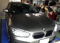 島田市 BMW 1シリーズ ダウンサス・コイルスプリング交換
