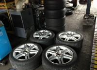 メルセデスベンツ タイヤ・ホイール持込みによる組替