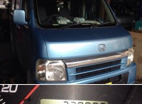 菊川市 ホンダ バモス 車検ご依頼頂きました。
