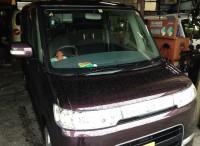 島田市 ダイハツ タントカスタム タイヤ組替交換ご依頼頂きました。